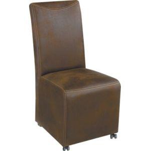 Kasvo VERTIGO židle hnědá